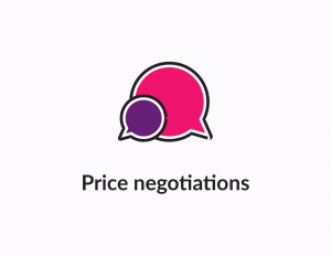 Negotiation settings