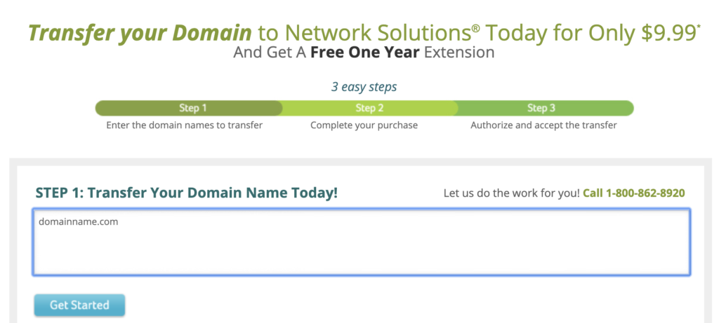 Your domain name: NS