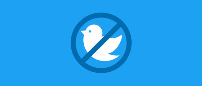 Twitter taken